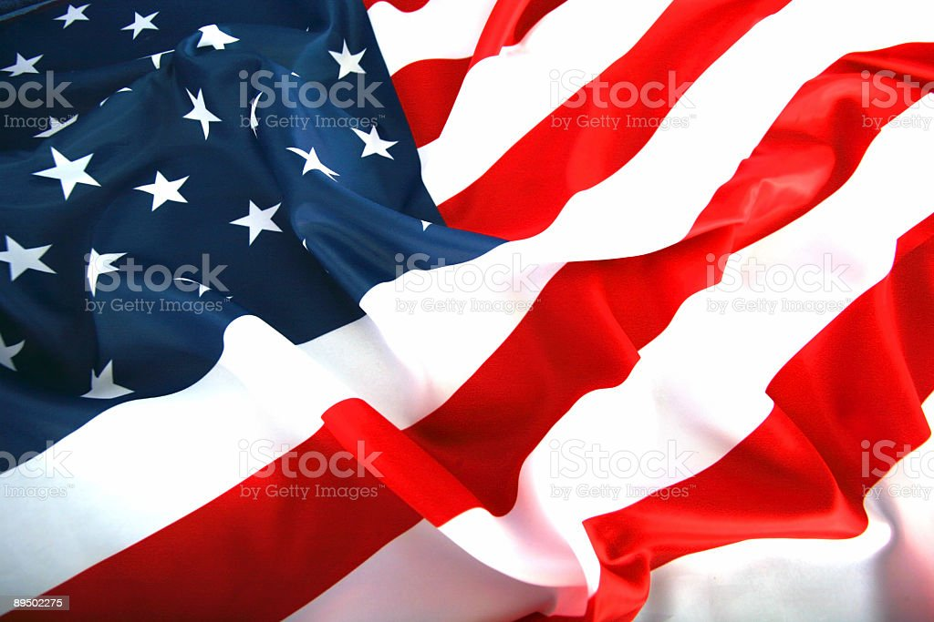 flag USA royalty-free stock photo