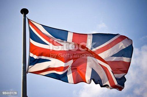 UK Flag in London