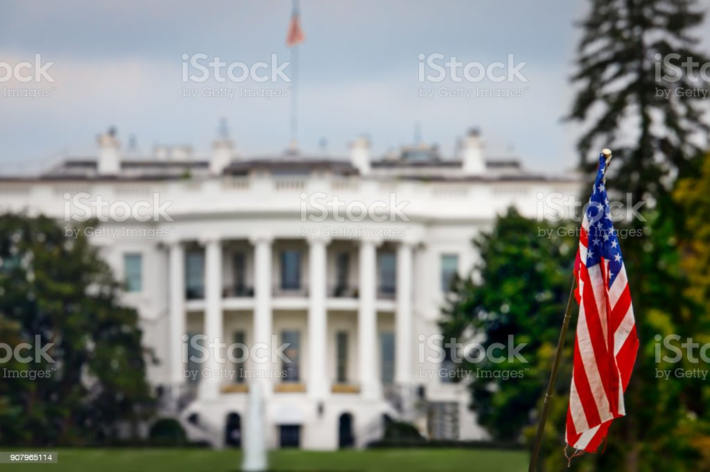 Flag Waving stock photo
