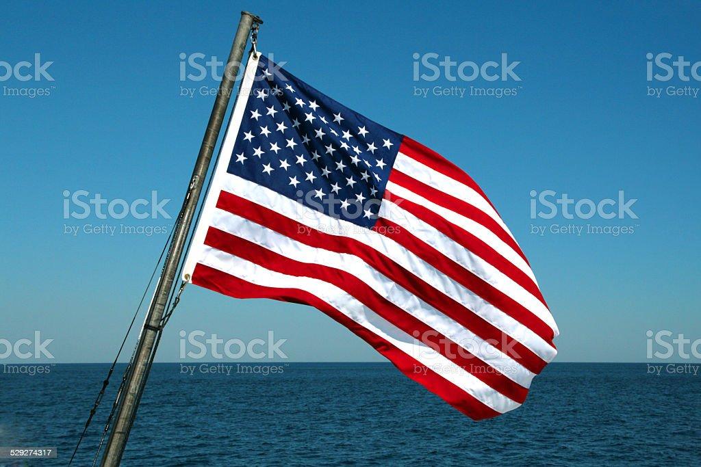 Amerika flag – Foto