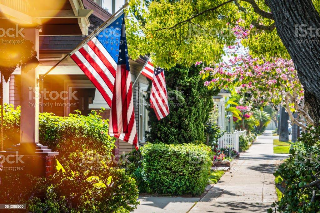 Bandeiras 1 (Napa) - foto de acervo