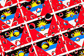 istock Flags  of Antigua and Barbuda 1059953874
