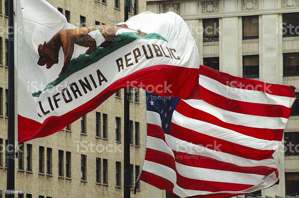 Drapeaux de la Californie - Photo