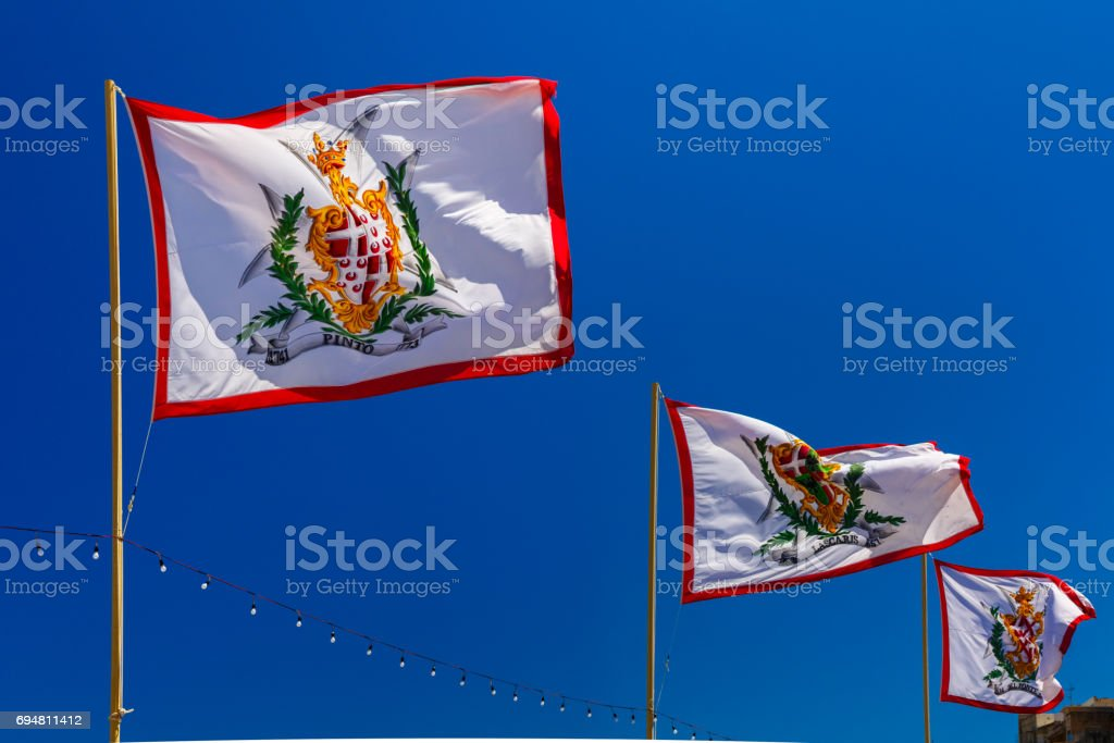 Flags of Grand Masters of Order of Malta