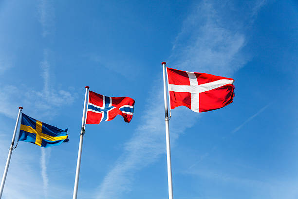 Royalty Free Dannebrog Flag Of Denmark Pictures Images And Stock - Denmark flags