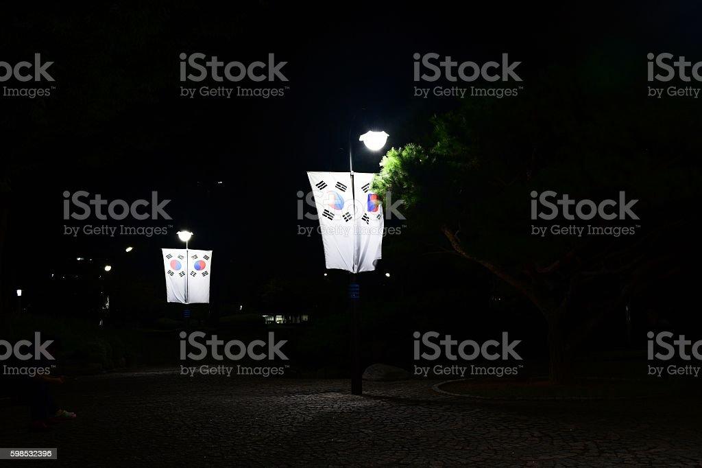 Drapeaux de  photo libre de droits