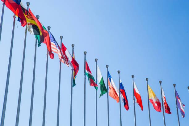 Six flags  - foto de stock