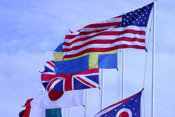 Flags  foreign affairs stock pictures, royalty-free photos & images