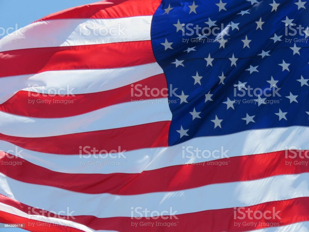Nos flags - Foto de stock de Azul royalty-free