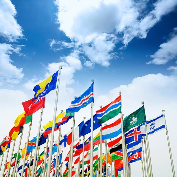 포석 blue sky - united nations 뉴스 사진 이미지