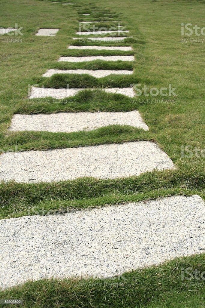 石畳の通路 ロイヤリティフリーストックフォト