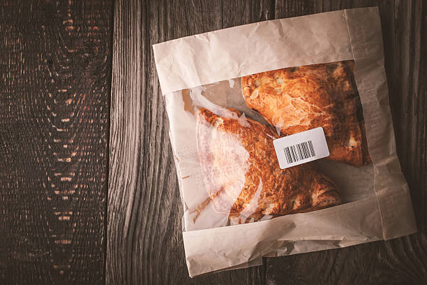Zartes Brötchen in-package mit Ausblick – Foto