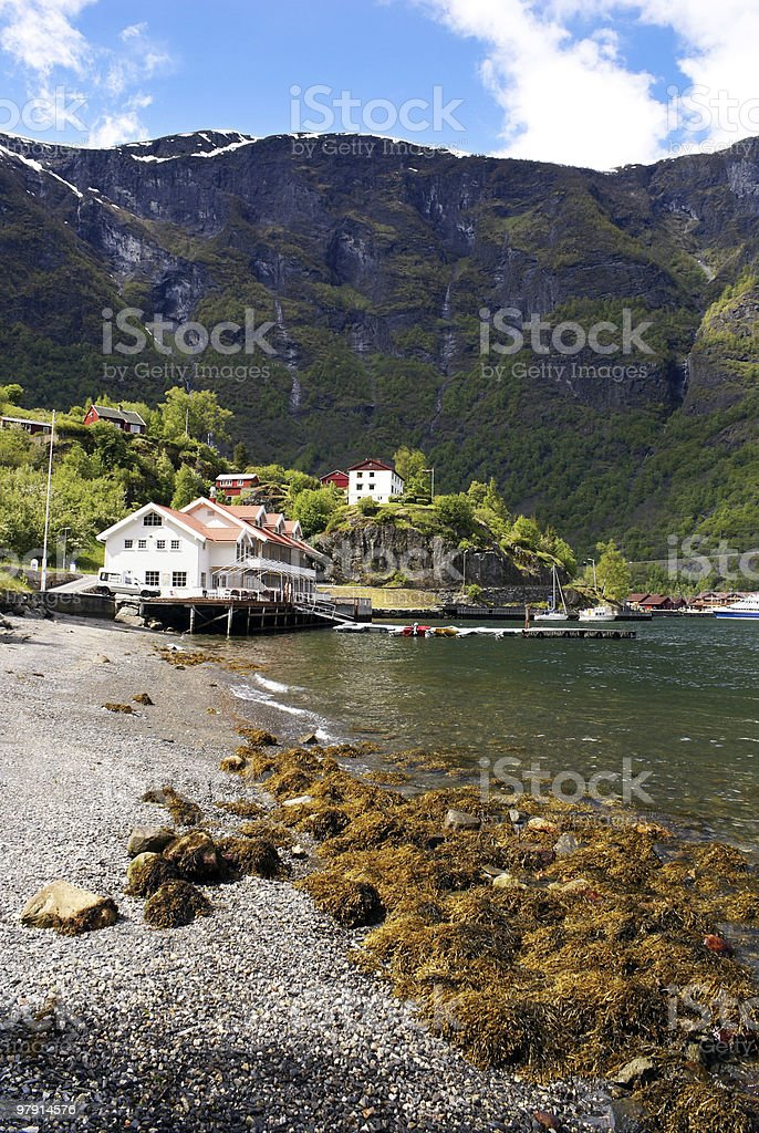 Flam Norway royalty-free stock photo