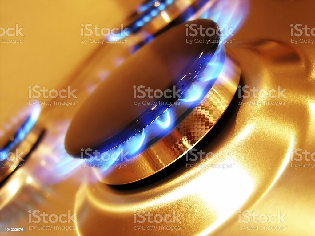 Flame 1 royalty-free stock photo