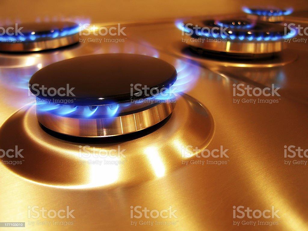 Flame 2 stock photo