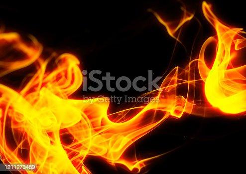 1067101542 istock photo Flame background illuminating the dark 1211273489