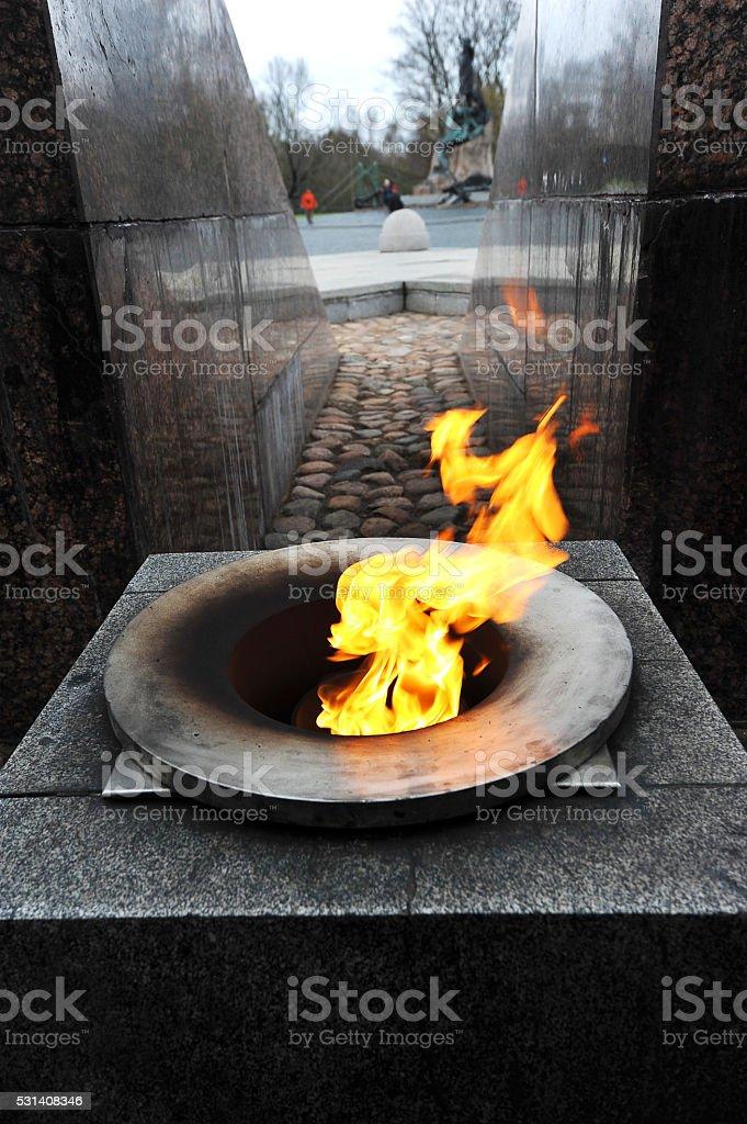 flame eternal flame stock photo