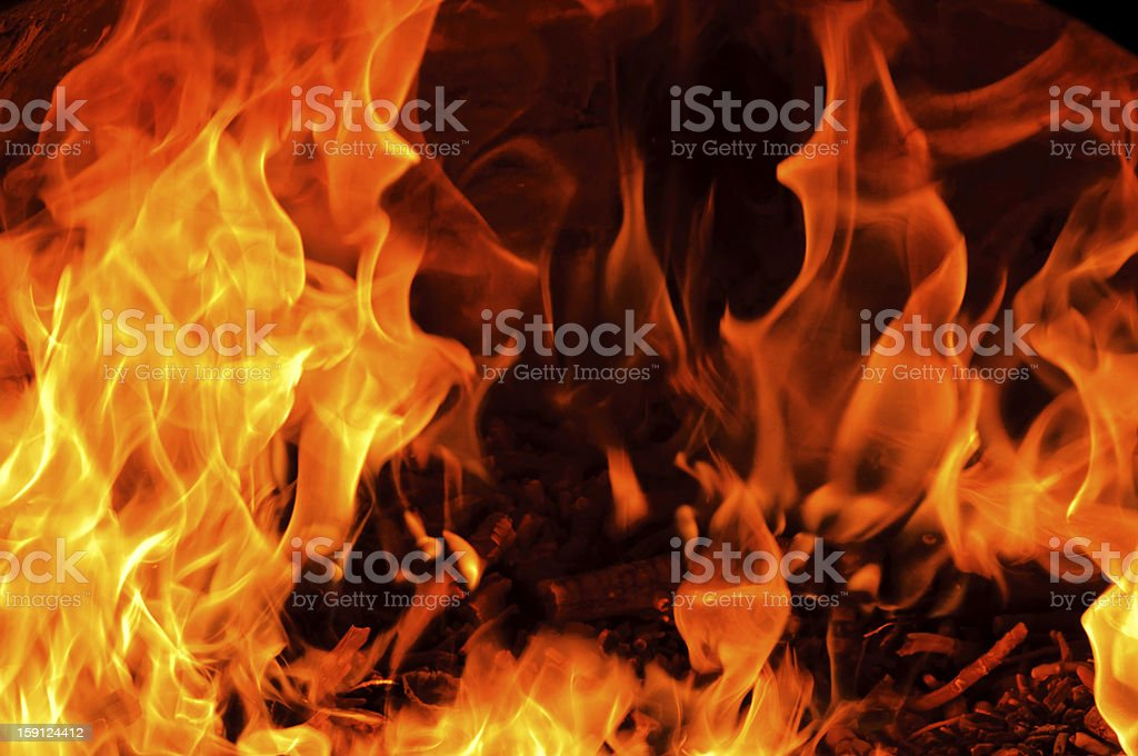 Flame motion royalty-free stock photo