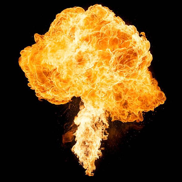 flame - feuerkugel stock-fotos und bilder