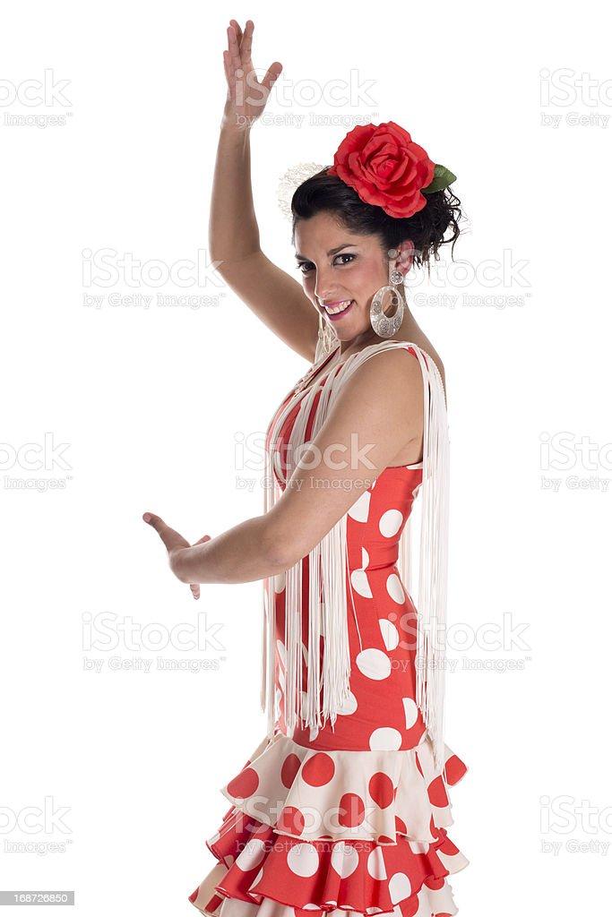 flamenca dance royalty-free stock photo
