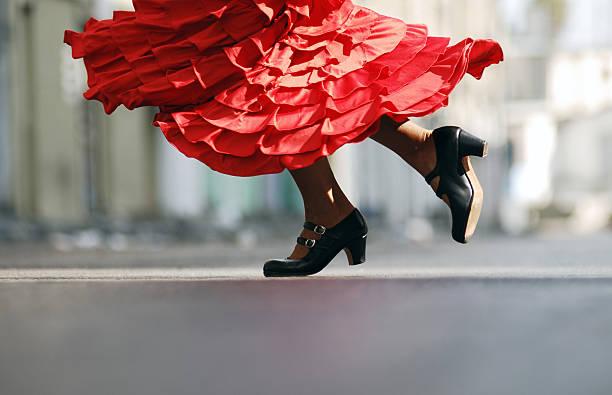 taniec flamenco - tango taniec zdjęcia i obrazy z banku zdjęć