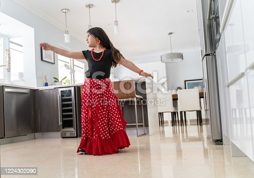 Flamenco practice is now at home
