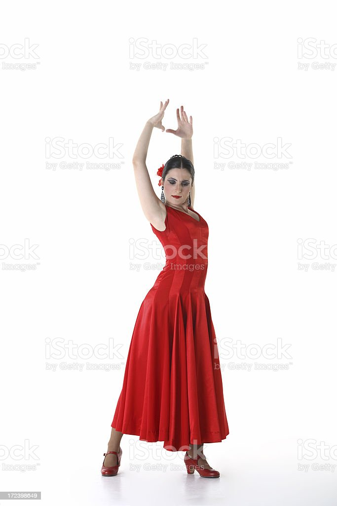flamenco woman stock photo