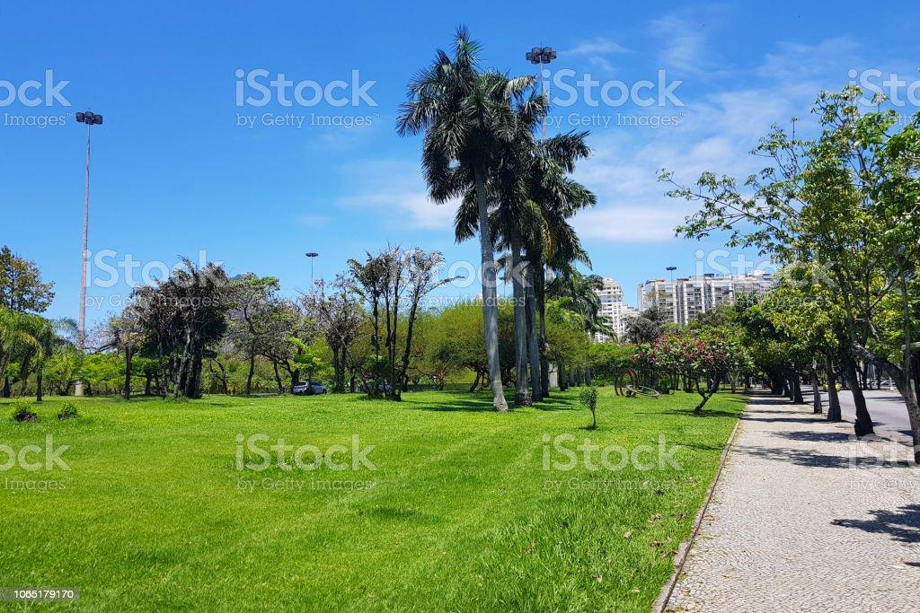 Flamengo Park In Rio De Janeiro Stock Photo Download Image Now Istock