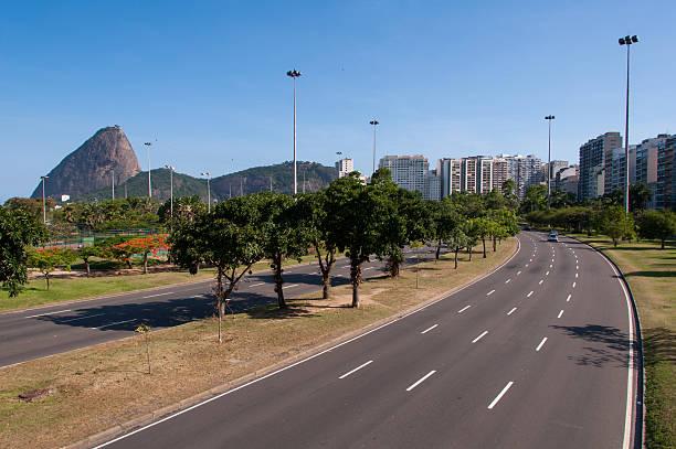 Flamengo Park stock photo