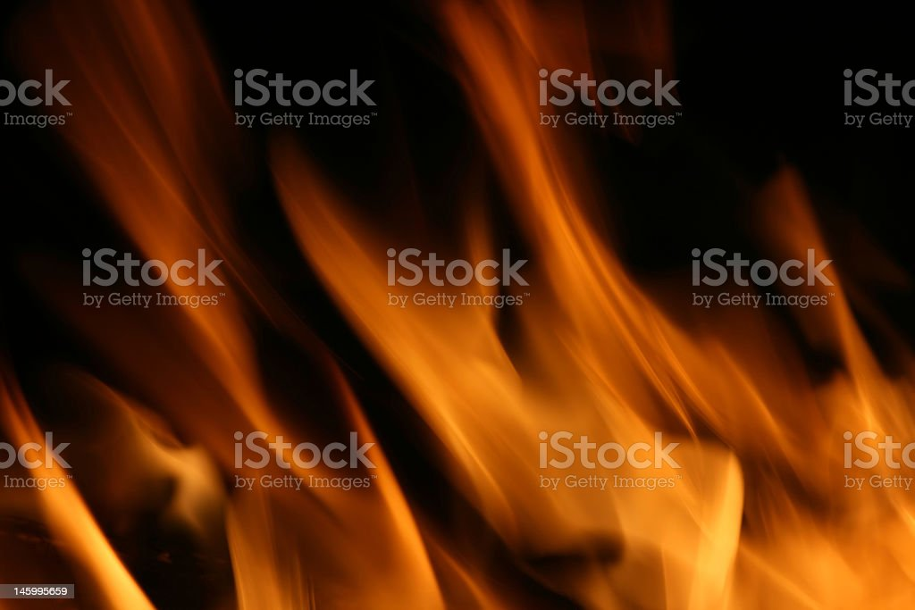 Flames of Fire royalty-free stock photo