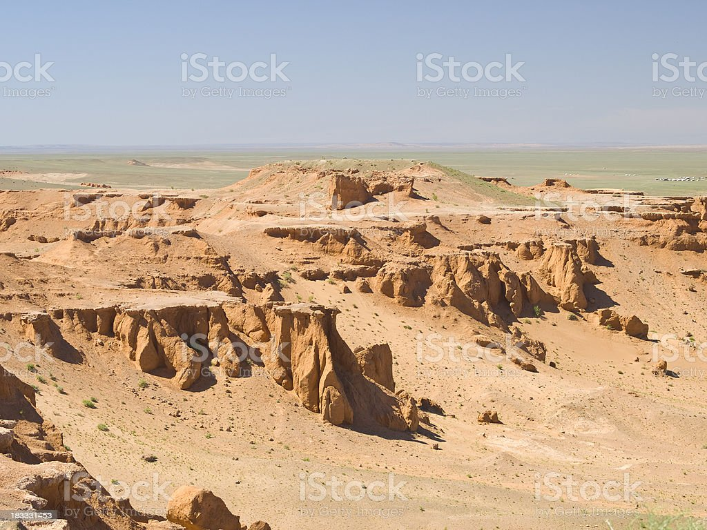 Flaming Cliffs royalty-free stock photo