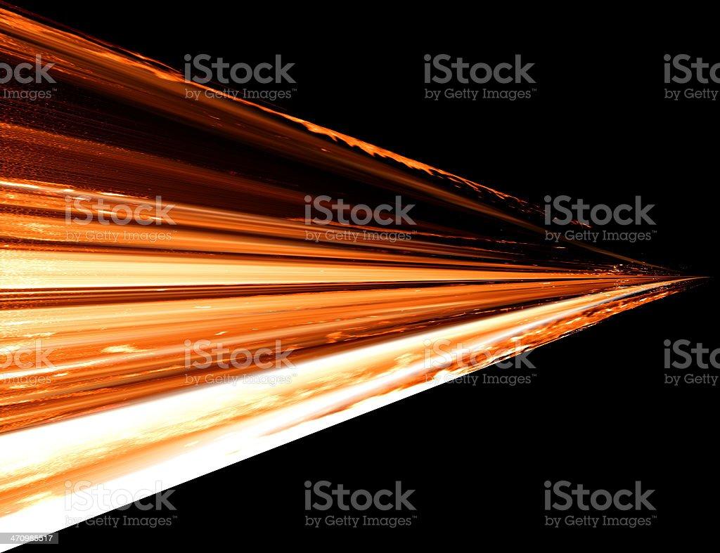 Flaming Ice stock photo