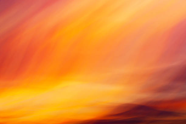 Flaming pastel colors creative abstract background stock photo