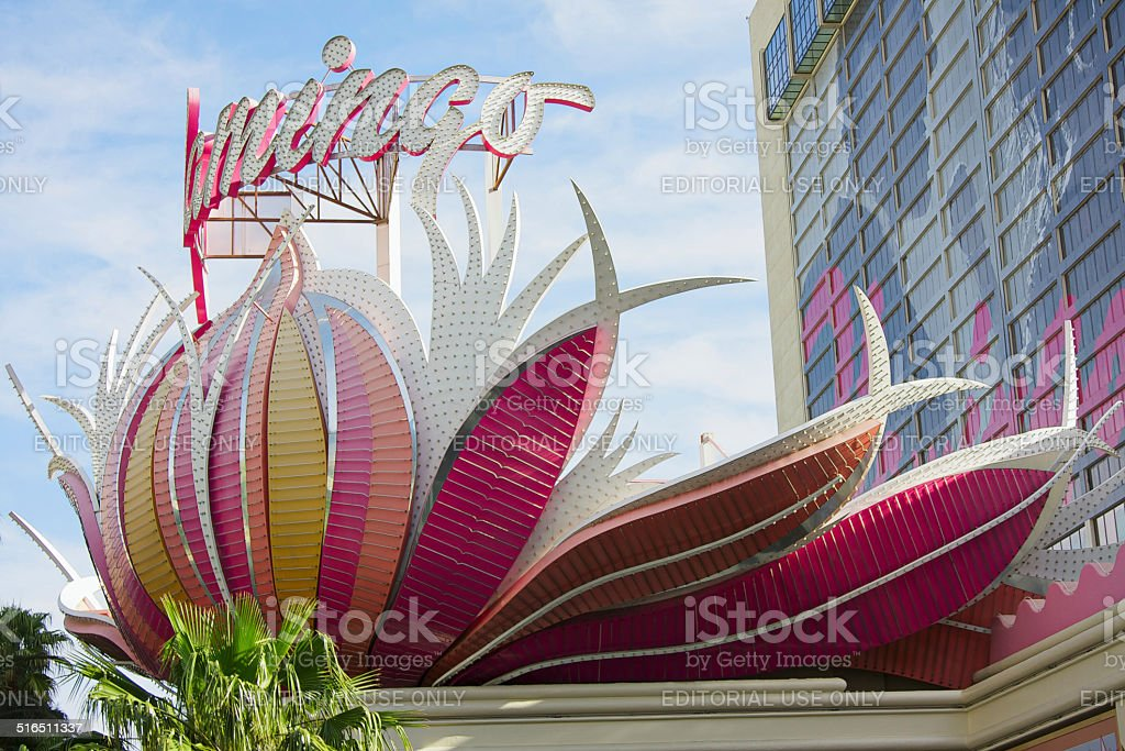 Flamingo Casino Hotel stock photo