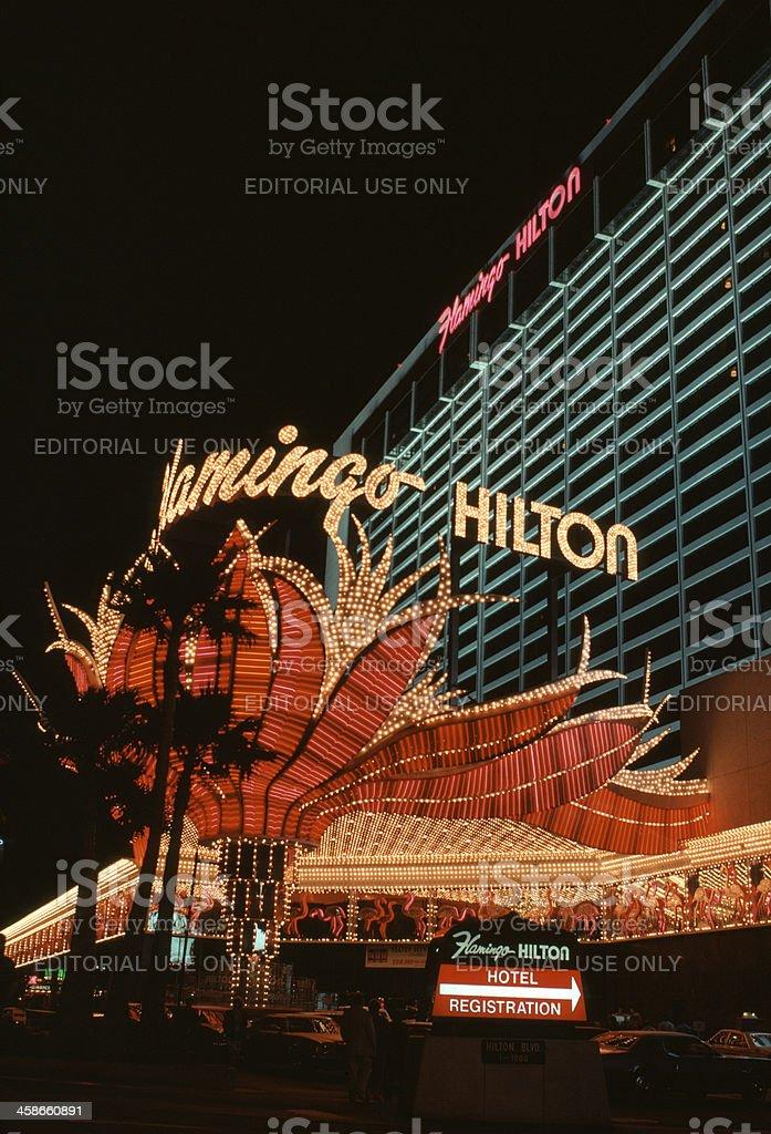 Flamingo Hilton Hotel stock photo