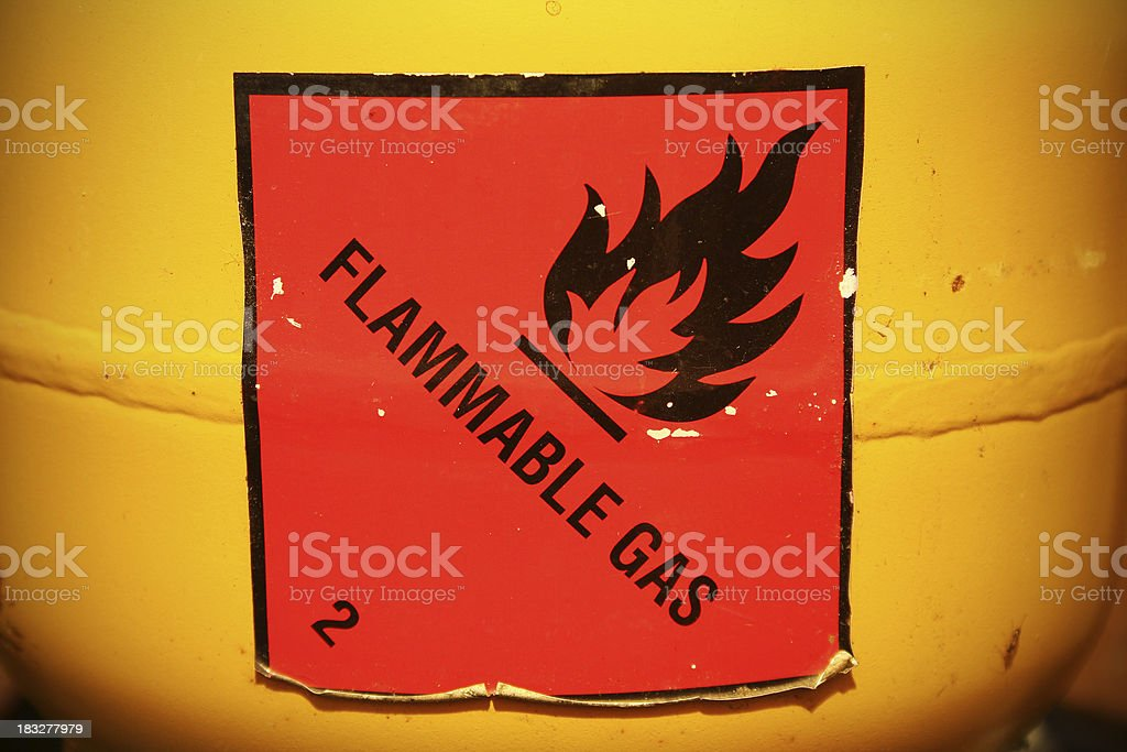 Flammable stock photo