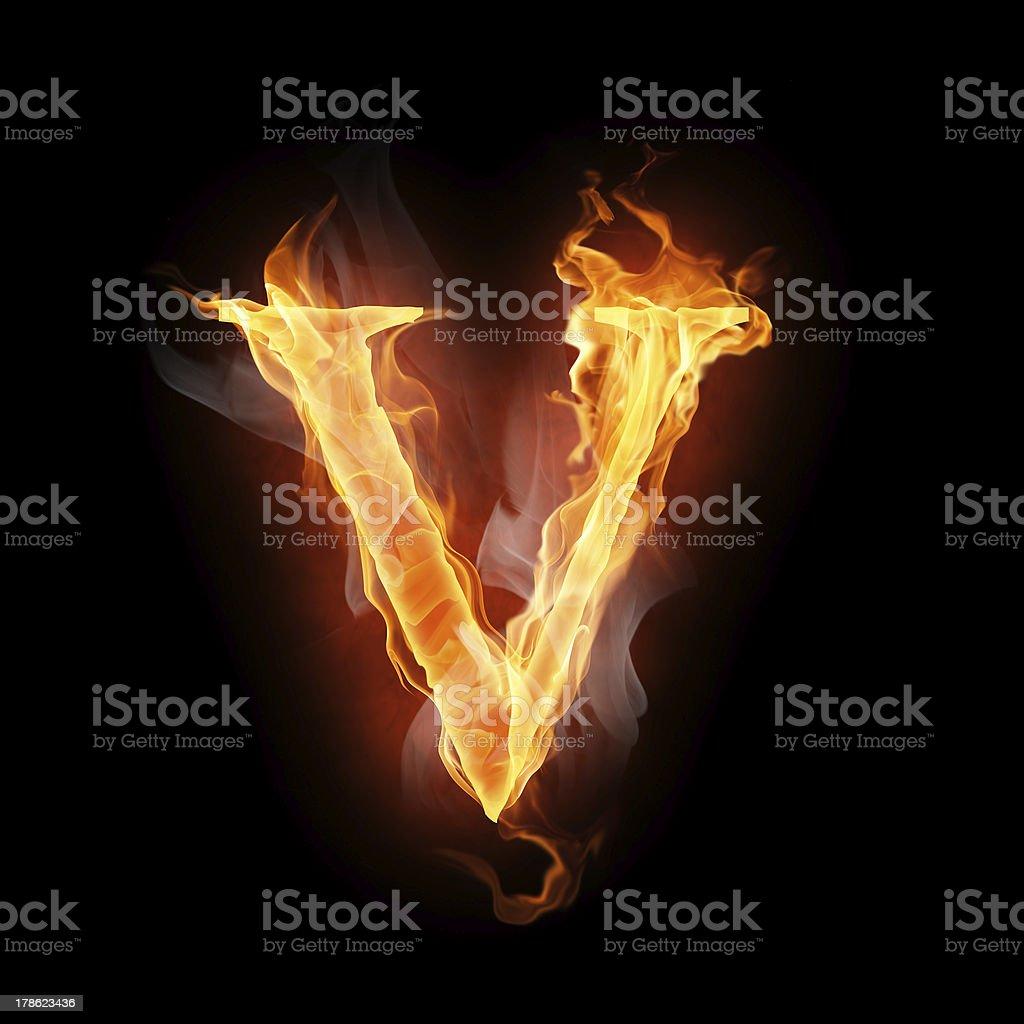 flamy símbolo - foto de stock
