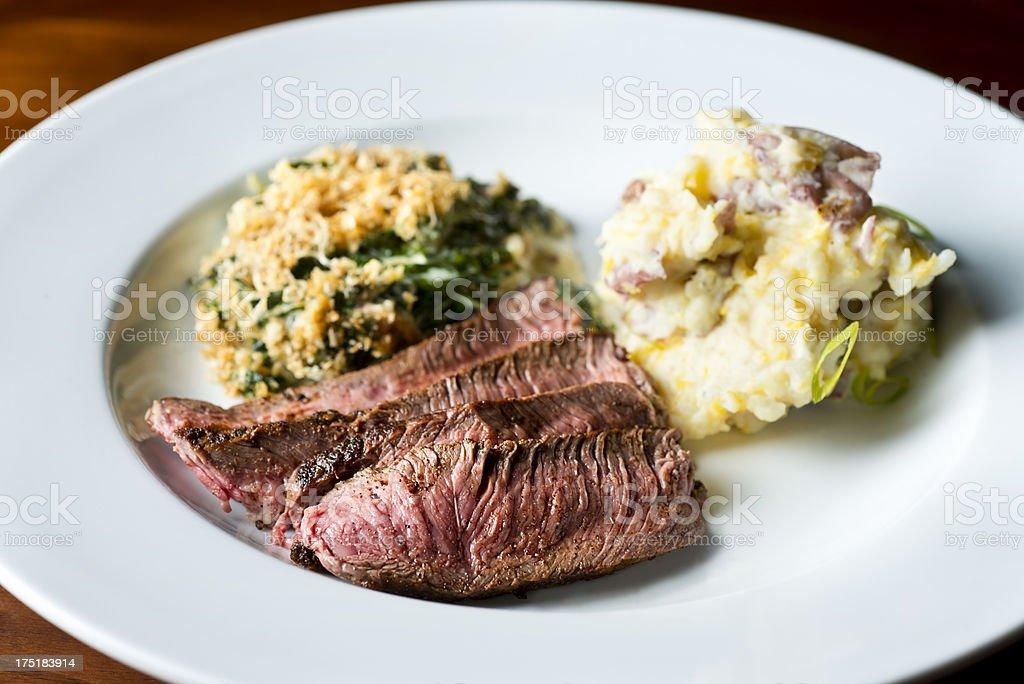 Flank Steak stock photo