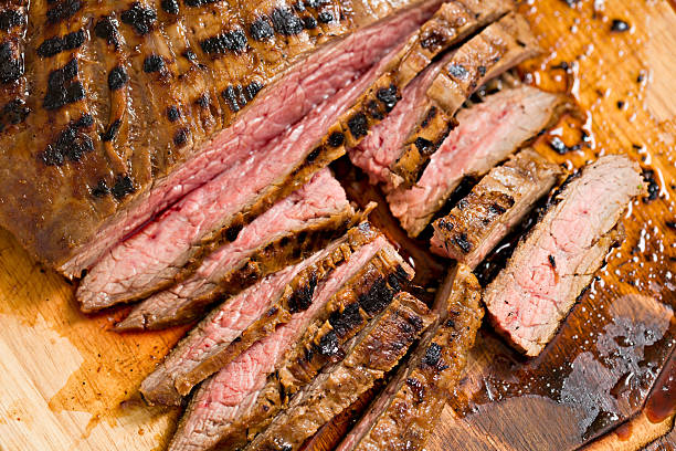 Flank Steak stock photo