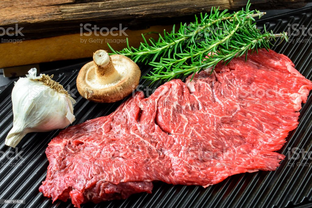 Flap Meat stock photo