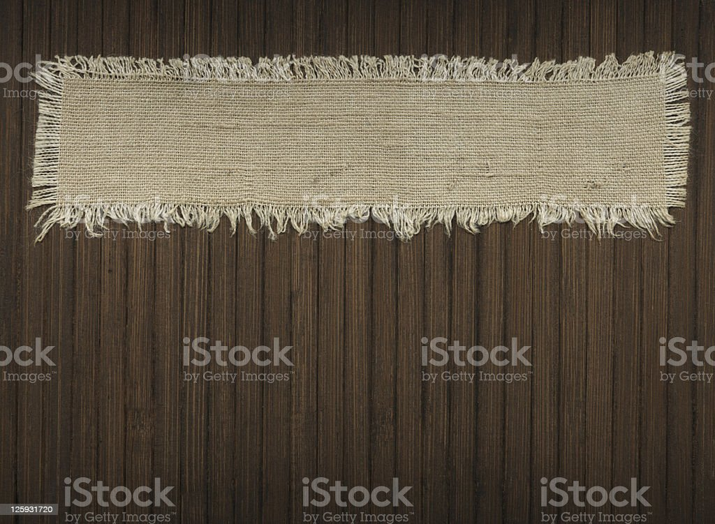 Flap of tissue royalty-free stock photo