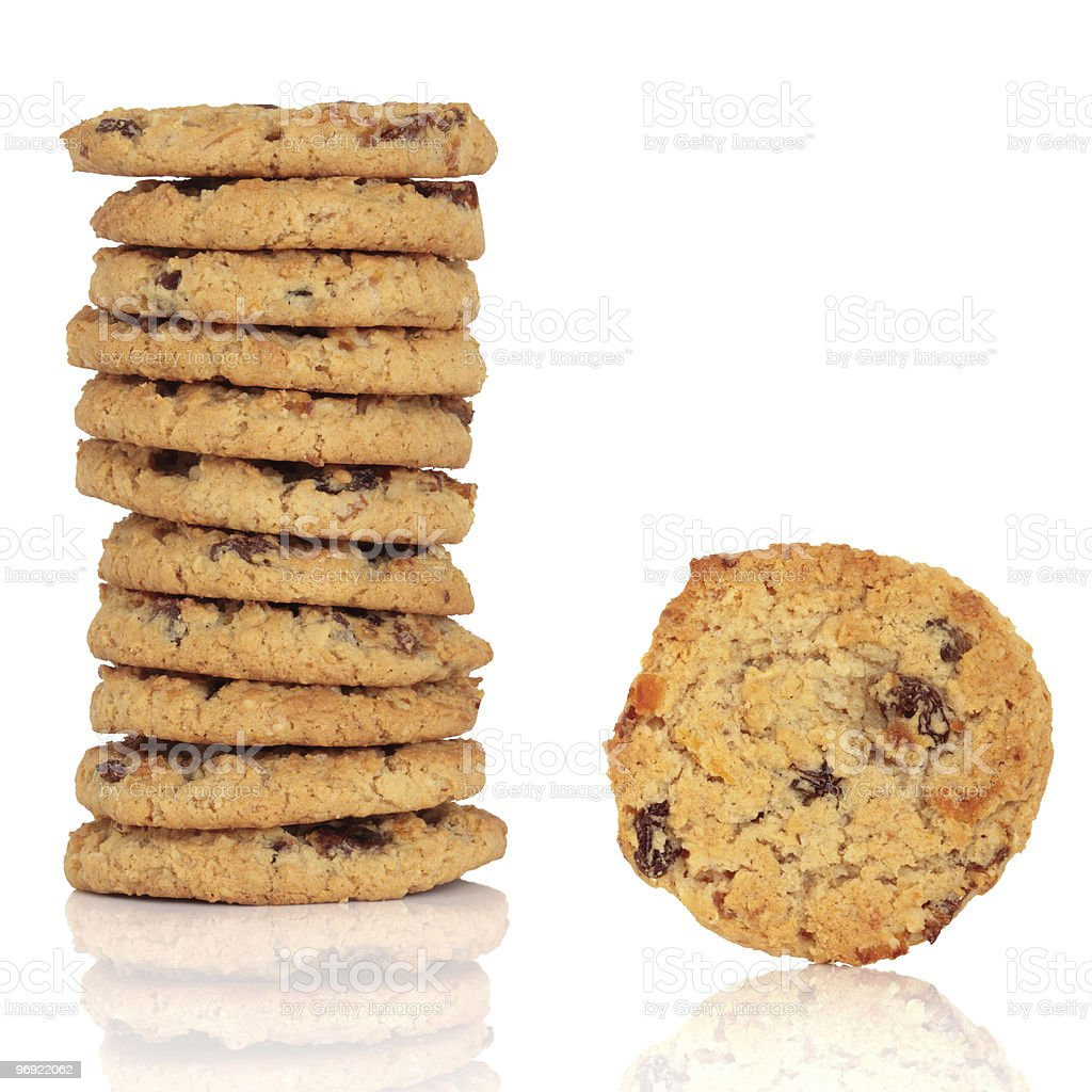 Flapjack Cookies royalty-free stock photo