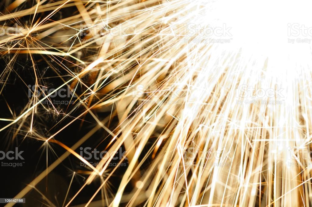 Flare abstraction stock photo