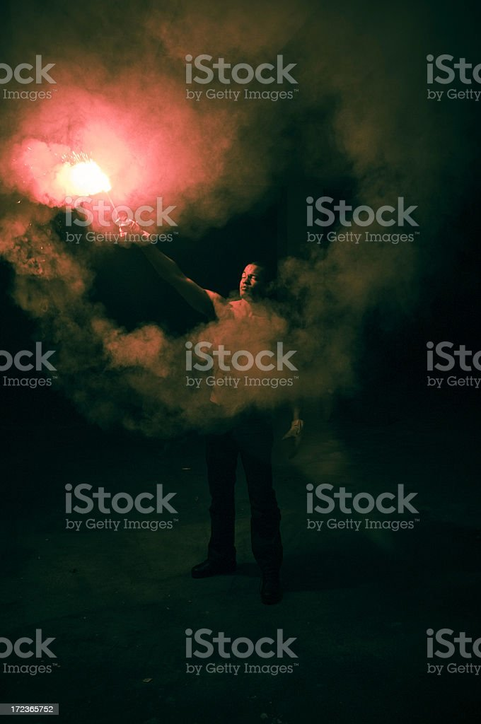 Flare Concept royalty-free stock photo