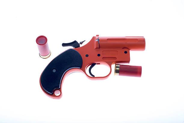 Flare Gun stock photo