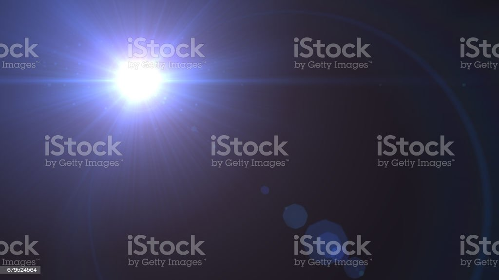 Flare Light , lens flare, light leaks, overlays royalty-free stock photo