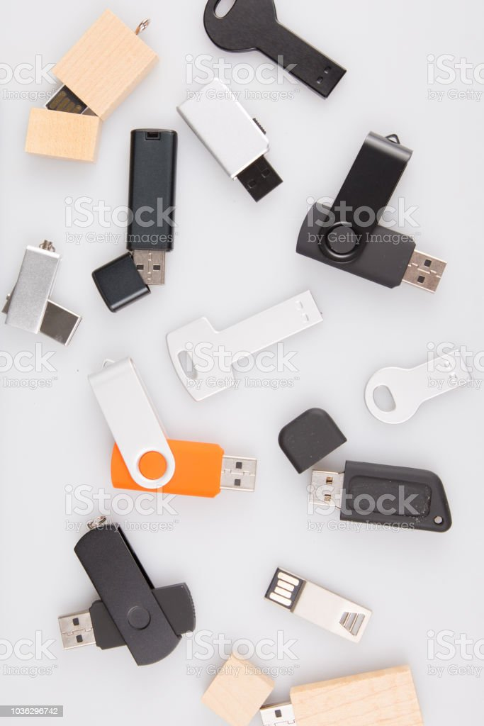 USB flash drive template for corporate identity Advertising Branding