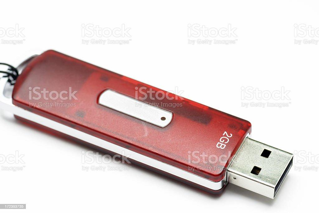 USB Flash Drive (ver.2) royalty-free stock photo