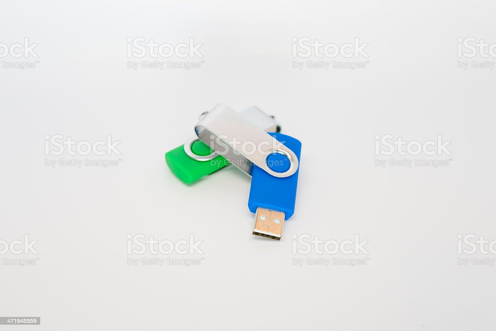 USB Flash Drive royalty-free stock photo