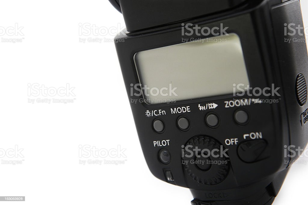 Flash for camera royalty-free stock photo